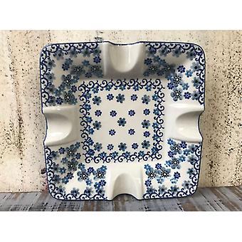 Maxi ashtray, 17.5 x 17.5 cm, 3.5 cm high, winter garden, BSN J-4843