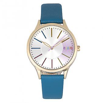 Crayo Gel Unisex Watch - Blue