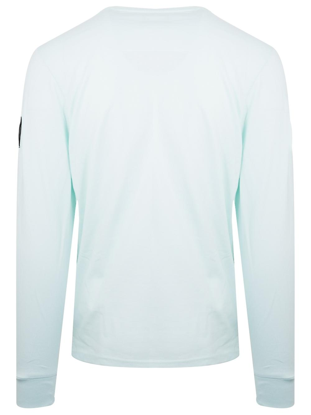 Marshall Artist Light Aqua Long Sleeve Siren T-Shirt
