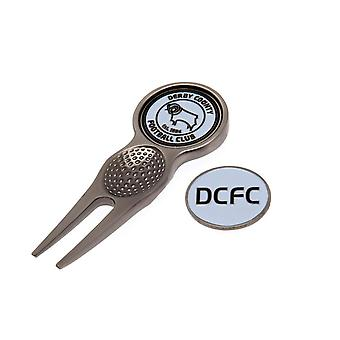 Derby County FC Divot Tool And Marker