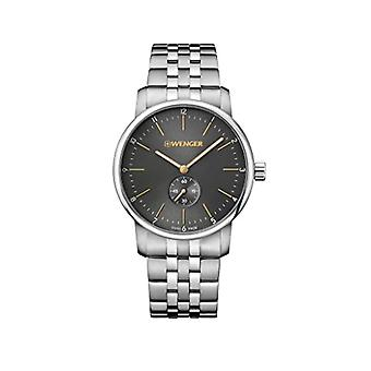 Wenger Unisex Quartz analogue watch with stainless steel band 01.1741.106