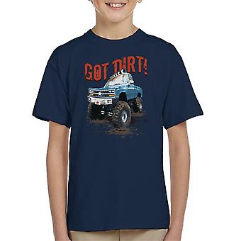 Monster Truck Got Dirt Kid's T-Shirt