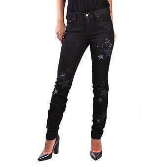 Red Valentino Ezbc026025 Women's Black Cotton Jeans