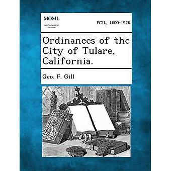 المراسيم في كاليفورنيا مدينة تولير. قبل جيل & جيو f.