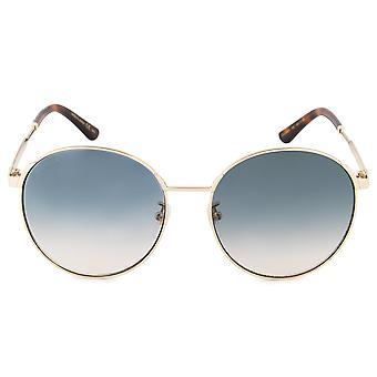 Gucci GG0206SK 005 58 Runde Sonnenbrille