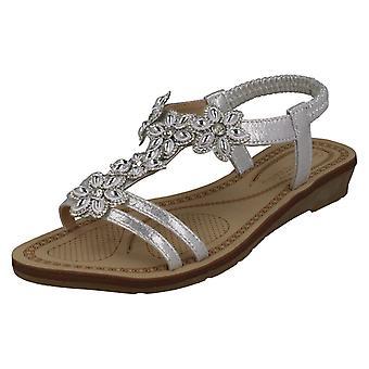 Ladies Savannah Strappy Slingback Sandals F10871
