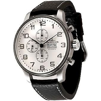 Zeno-watch mens watch giant chronograph-date 10557TVDD-e2