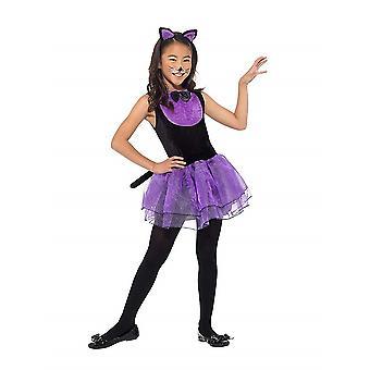 女の子猫衣装子供衣装カーニバル猫コスチューム