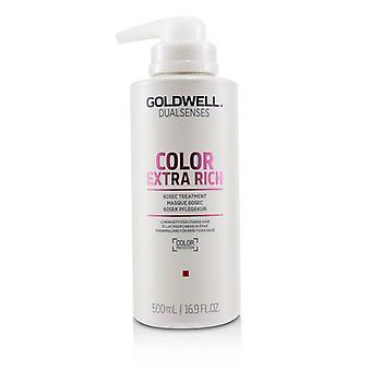 Goldwell Dual Senses Color Extra Rich 60sec Treatment (luminosity For Coarse Hair) - 500ml/16.9oz