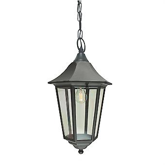 Valencia Outdoor Grande Lanterna da Cadeia - Elstead Lighting Vg8 BLACK