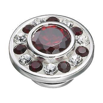 KAMELEON Crimson Burst Sterling Silver JewelPop KJP331