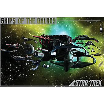 Poster - Star Trek - Ships of the Galaxy Wall Art Licensed Gifts Toys 241321
