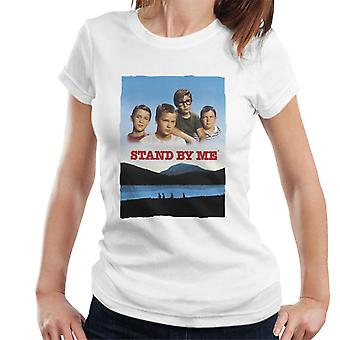 Stand By Me Movie Poster Shot Women's T-Shirt