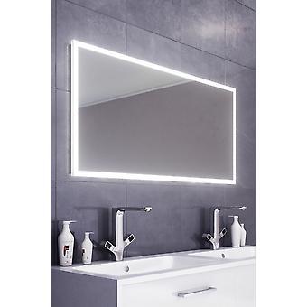 Kiera Slimline Edge LED kylpy huone peili & Demister pad & anturi k473