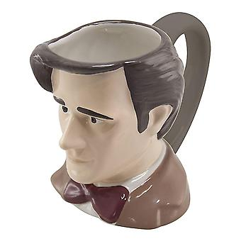 Doctor Who Eleventh Doctor Toby 3D Mug