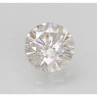 Zertifiziert 1,26 Karat E SI2 Runde Brillant Verbesserte natürliche lose Diamant 6,97mm