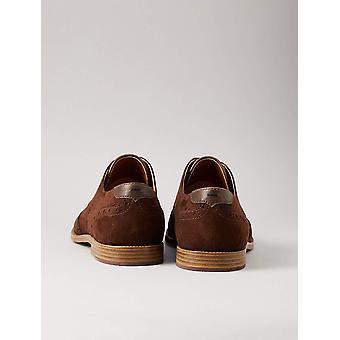 Amazon Brand - find. Men's Suede-Look Brogue Shoes
