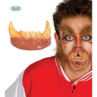 Guirca Teeth Fangs Man Wolf Pvc (Babies and Children , Costumes)