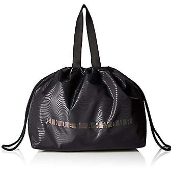 Under Armour Mega Tote Black Black Women's Handbag/Metallic Silver One Size