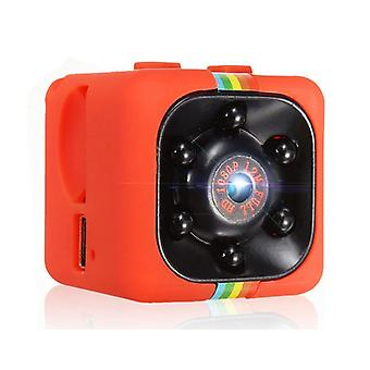 Roba certificata ® Mini Camera HD 1080p Nightvision Motion Detector Rosso