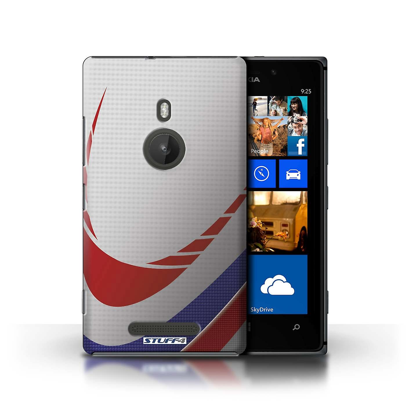 STUFF4 Case/Cover for Nokia Lumia 925/Rugby/Sports Balls