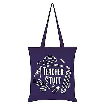 Grindstore Teacher Stuff Tote Bag