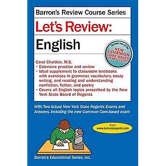 Let's Review English (5th) by Carol Chaitkin - 9781438006260 Book