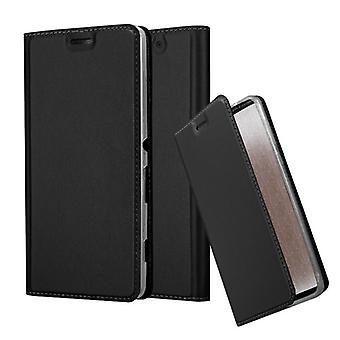 Cadorabo Hülle für Sony Xperia C4 Case Cover - Handyhülle mit Magnetverschluss, Standfunktion und Kartenfach – Case Cover Schutzhülle Etui Tasche Book Klapp Style