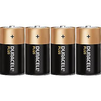 Duracell Plus LR20 D battery Alkali-manganese 1.5 V 4 pc(s)