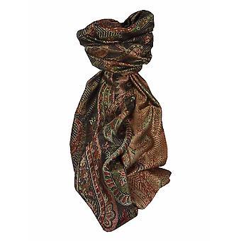 Mens Jamawar Premium Silk Scarf Modello 4159 di Pashmina & Silk