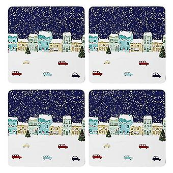 Foxwood Home Winter Scene Placemats