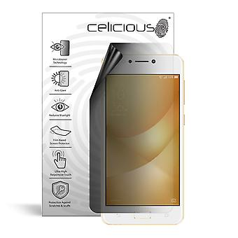 Celicious Privacy Lite 2-Way Anti-Glare Anti-Spy Filter Screen Protector Film Compatible with Asus Zenfone 4 Max (ZC520KL)