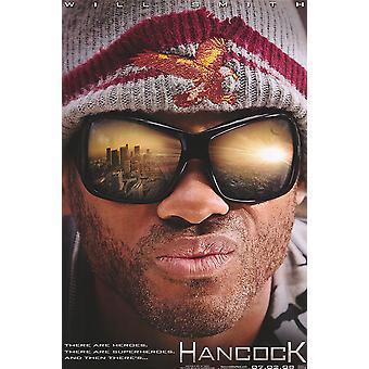 Hancock (Single Sided Advance Mini Poster) (2008) Original Mini Cinema Poster