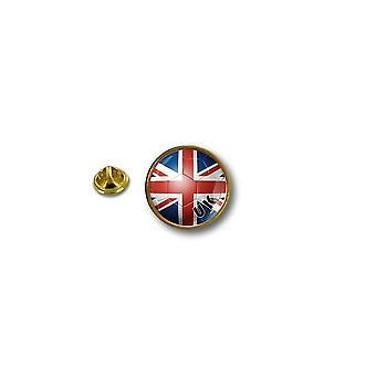 Pins Pin Badge Pin's Metal Biker Motard Drapeau Foot Royaume Uni Uk