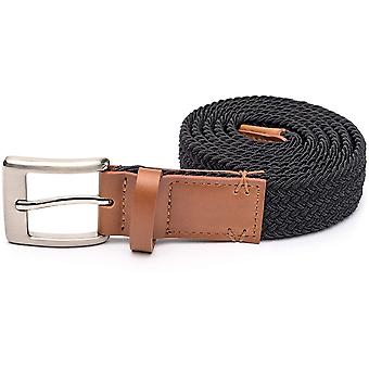 Arcade Hudson Slim Webbing Belt in Black