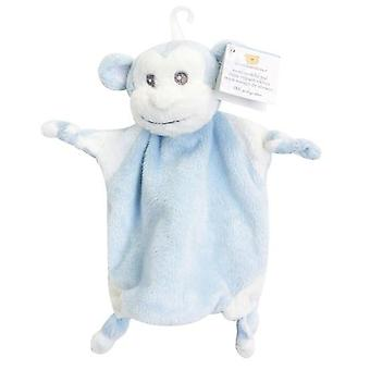Blanket Piccolo Bambino Mini Monkey Blue