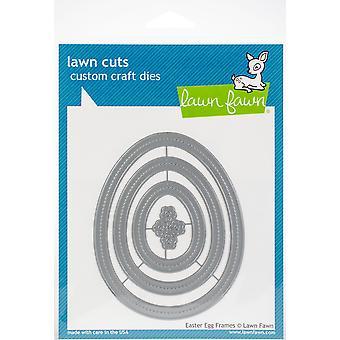 Lawn Cuts Custom Craft Die -Easter Egg Frames