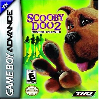 Scooby Doo Two Monsters Unleashed GBA Game (GameBoy Advance)