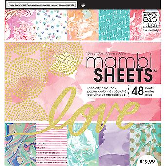 Mambi ' Single-Sided papier Pad 12