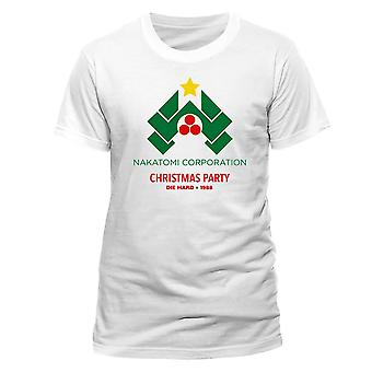 Men's Die Hard Nakatomi Plaza Christmas Party T-Shirt