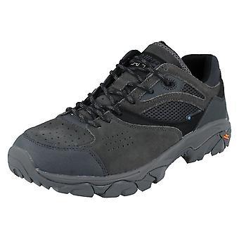 Mens Hi-Tec Lace up waterdichte Walking schoenen Nouveau tractie lage WP