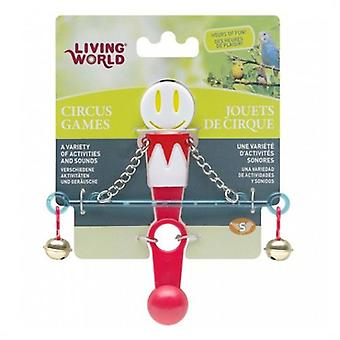 Hagen Circus Balance White / Red (Birds , Bird Cage Accessories , Toys , Swings)
