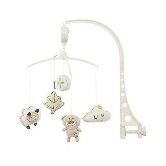 Chipolino Music Mobile Candy Bear for Cot, Running Stable with Rotating Mechanism