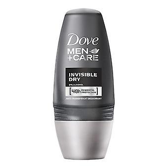 Roll-On Deodoranti Uomini Invisibile Colomba Secca (50 ml)