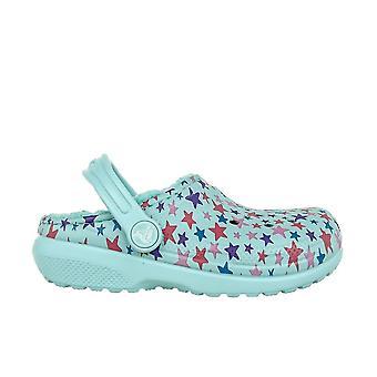 Crocs Classic trykt foret 2058154O9 Universal sommer Kids sko