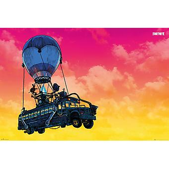 Fortnite Battle bus Maxi poster 61 x 91.5 cm
