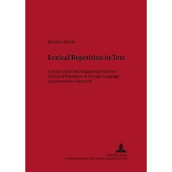Lexicale herhaling in tekst door Krisztina Karoly