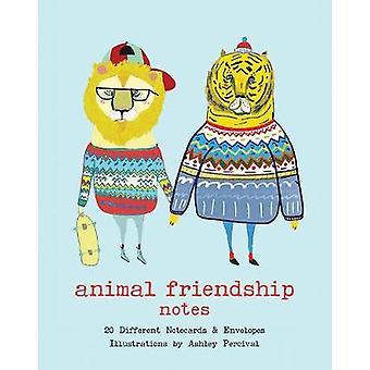 Notas de Amizade Animal por Ashley Percival