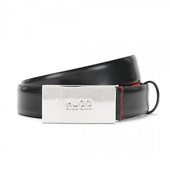 HUGO By Hugo Boss Baldwin Black Leather Belt 50218261