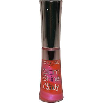 L'Oreal Glam Shine Miss Candy Lip Gloss 6ml Tart Lollipop (#703)